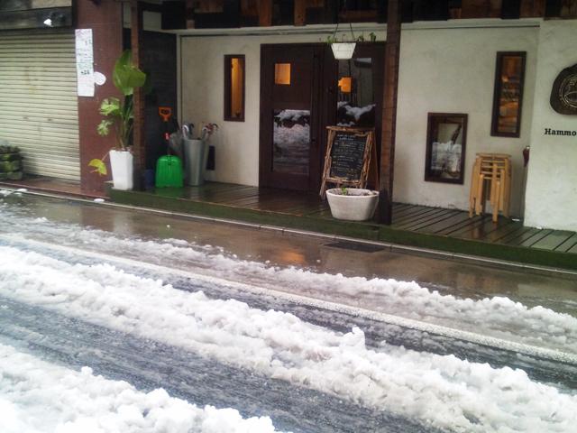 ハンモックのカフェ
