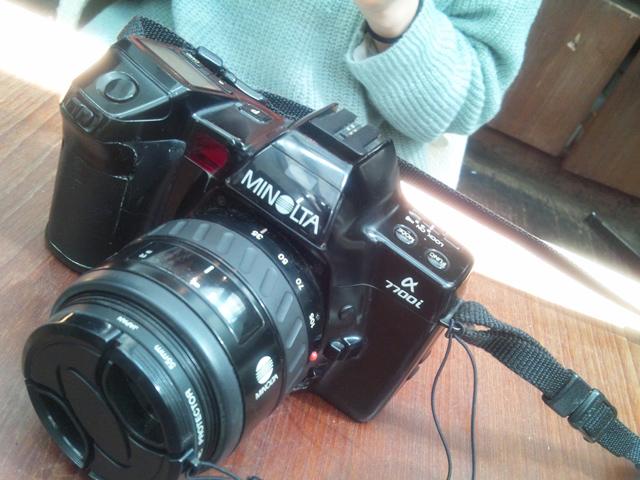 フィルムのカメラ