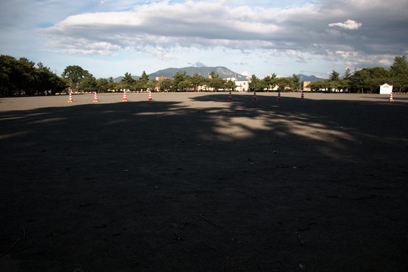 合浦公園のグラウンド
