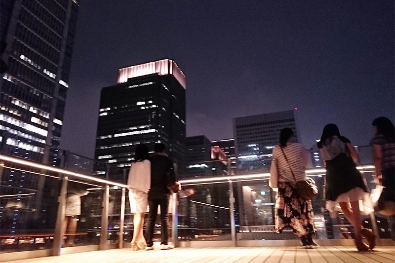 東京駅西側